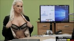 Young Wife Fucks Loan Officer To Help Her Business