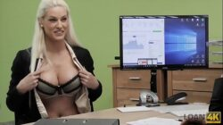 LOAN4K. Voluptuous hottie needs loan to open her new business 9 min