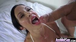 Anal Intercorse With (jewels jade) Curvy Butt Girl Oiled Up clip-11