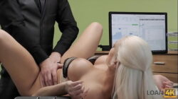 LOAN4K. Amazing beauty is ready to have sex in exchange for a loan